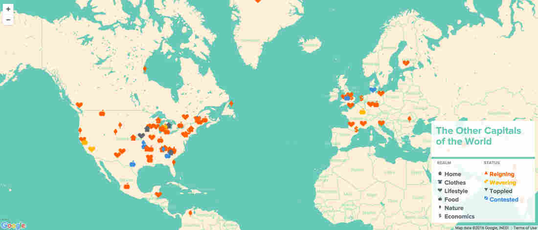 """Ever wonder what's the """"pink flamingo capital of the world""""? This map has you covered."""