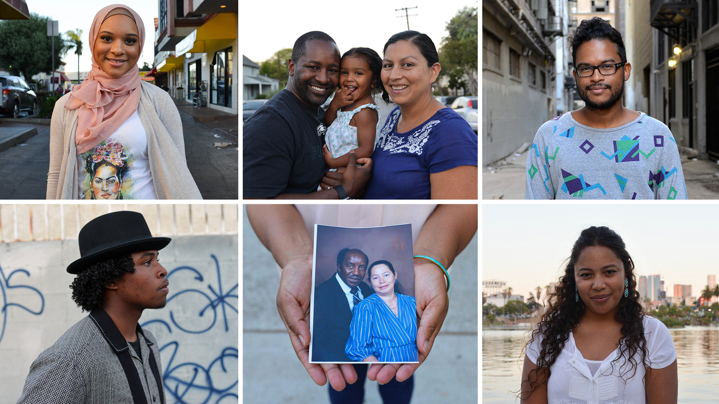 An Emerging Entry In America's Multiracial Vocabulary: 'Blaxican' : Code Switch : NPR