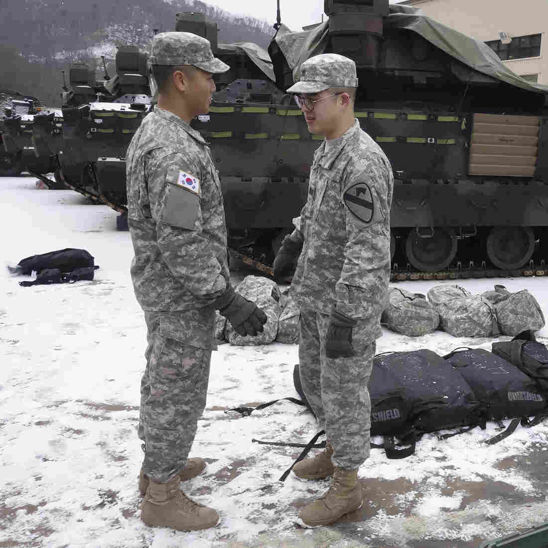 Welcome To Korea: 4,000 U.S. Troops Arrive At A Tense Time