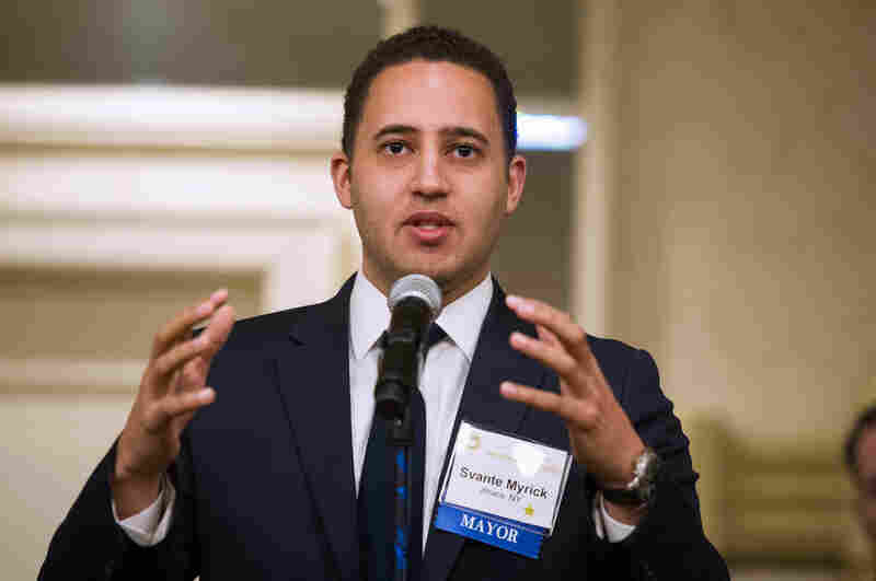 Mayor Svante Myrick of Ithaca, N.Y., says having a supervised facility for heroin users would reduce the toll on the community.