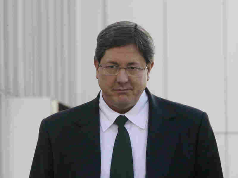 Lyle Jeffs, pictured leaving the federal courthouse in Salt Lake City last year, has been the acting leader of the FLDS since his brother Warren Jeffs was imprisoned in 2011.