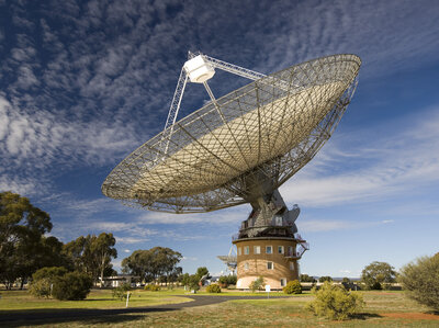 CSIRO's Parkes radio telescope in Australia. (CSIRO)