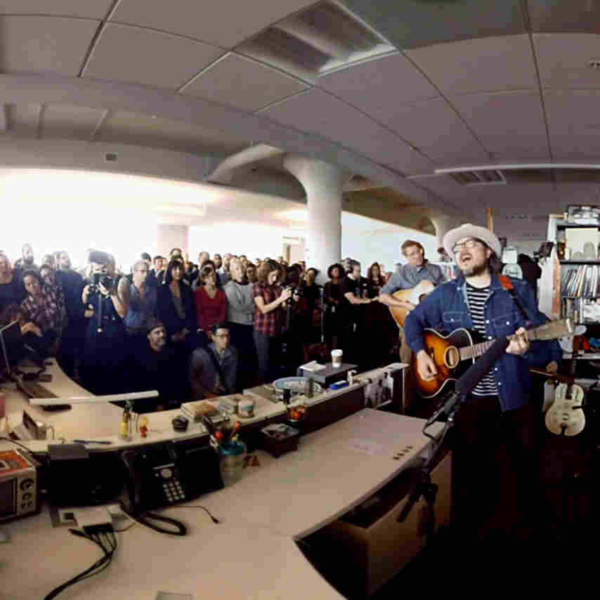 Wilco played at NPR Music's Tiny Desk. We filmed it in 360 degrees.