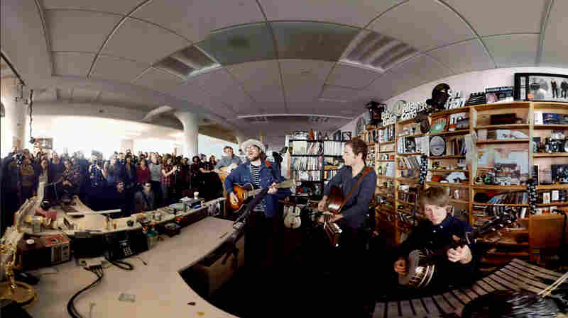 Wilco In 360: Behind The Scenes At NPR Music's Tiny Desk