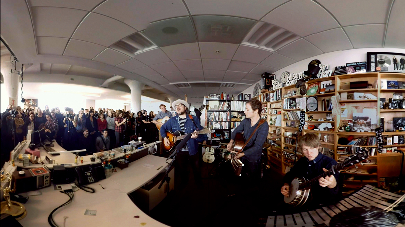 Wilco In 360 Behind The Scenes At Npr Music S Tiny Desk All Songs Considered