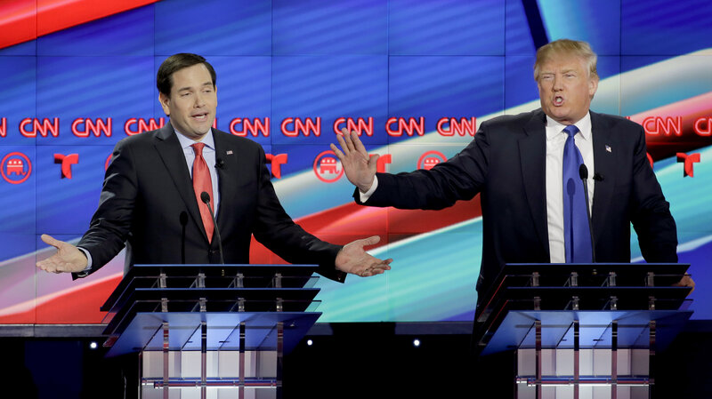 6 Takeaways From Tonight's Republican Debate