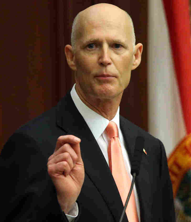 Florida Gov. Rick Scott asked the CDC for more Zika tests.