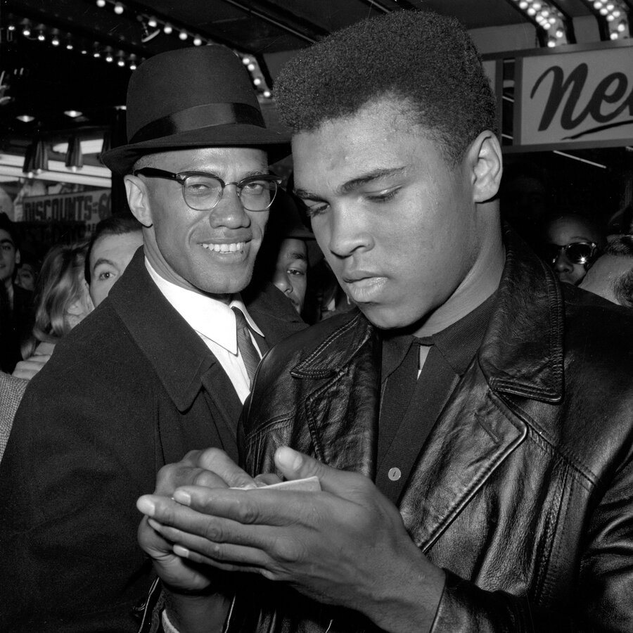muhammad ali and malcolm x a broken friendship an enduring  muhammad ali and malcolm x a broken friendship an enduring legacy
