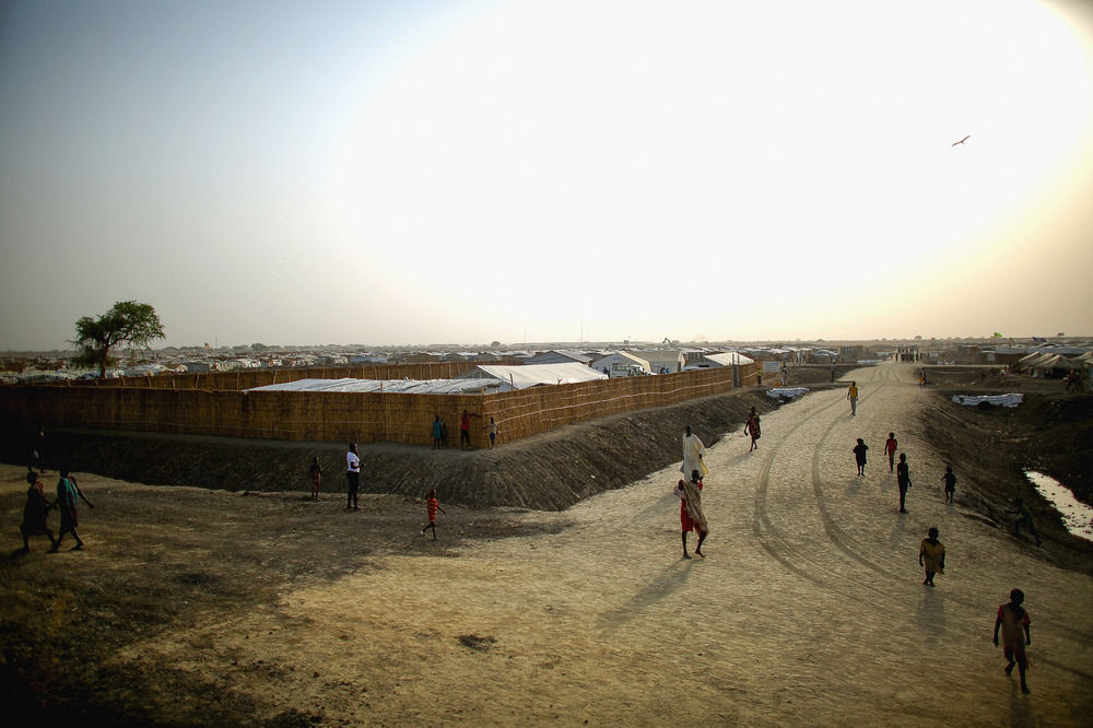The U.N. Protection of Civilians site near Bentiu is home to more than 120,000. It's the country's biggest camp for the displaced.