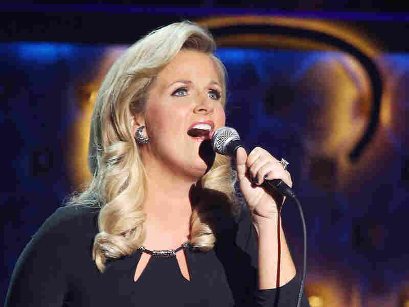 Trisha Yearwood performs at the Encore Theater on Dec. 2, 2015, in Las Vegas.