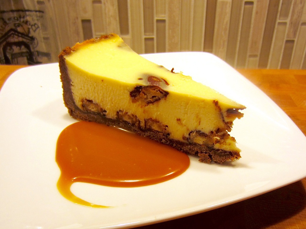 Girl Scout Cookie Unity Cheesecake: the mashup dessert you never knew you needed.