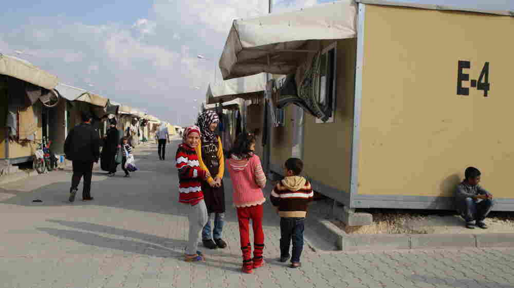 The Syrians Keep Fleeing, But Now They Hit Turkey's Closed Border