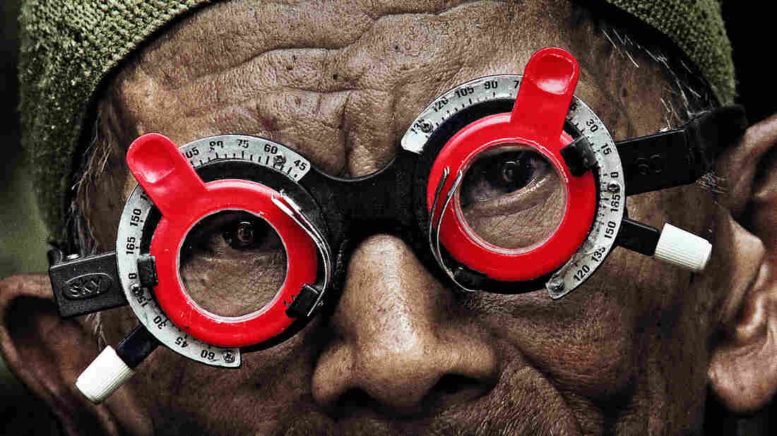 In Joshua Oppenheimer's documentary The Look of Silence, an Indonesian optometrist offers forgiveness to his older brother's killers — if they'll admit to the deed.