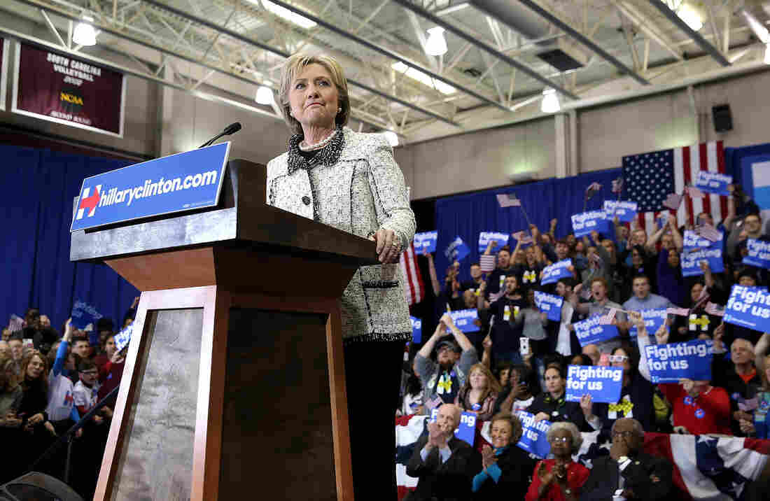 In Saturday night's primary in South Carolina, Hillary Clinton won by more than 47 percent over Democratic rival Bernie Sanders in the most populous state to vote thus far.