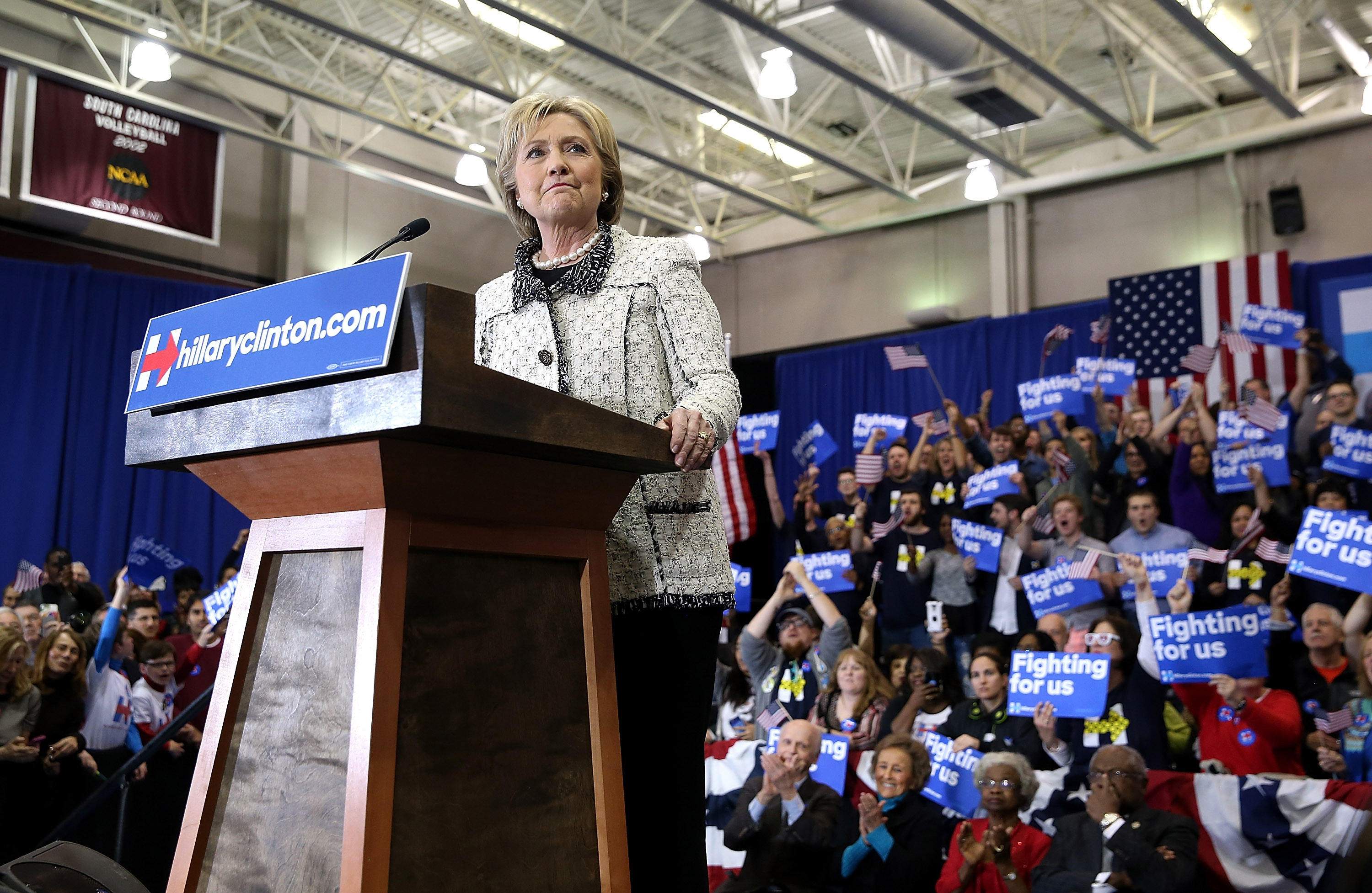 Suddenly, South Carolina Projects Clinton Power Into Super Tuesday