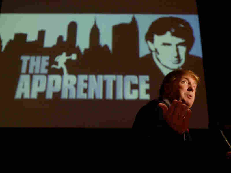 Donald Trump, seen here in 2004, has appeared on The Apprentice (and then The Celebrity Apprentice) from 2004 until 2015.