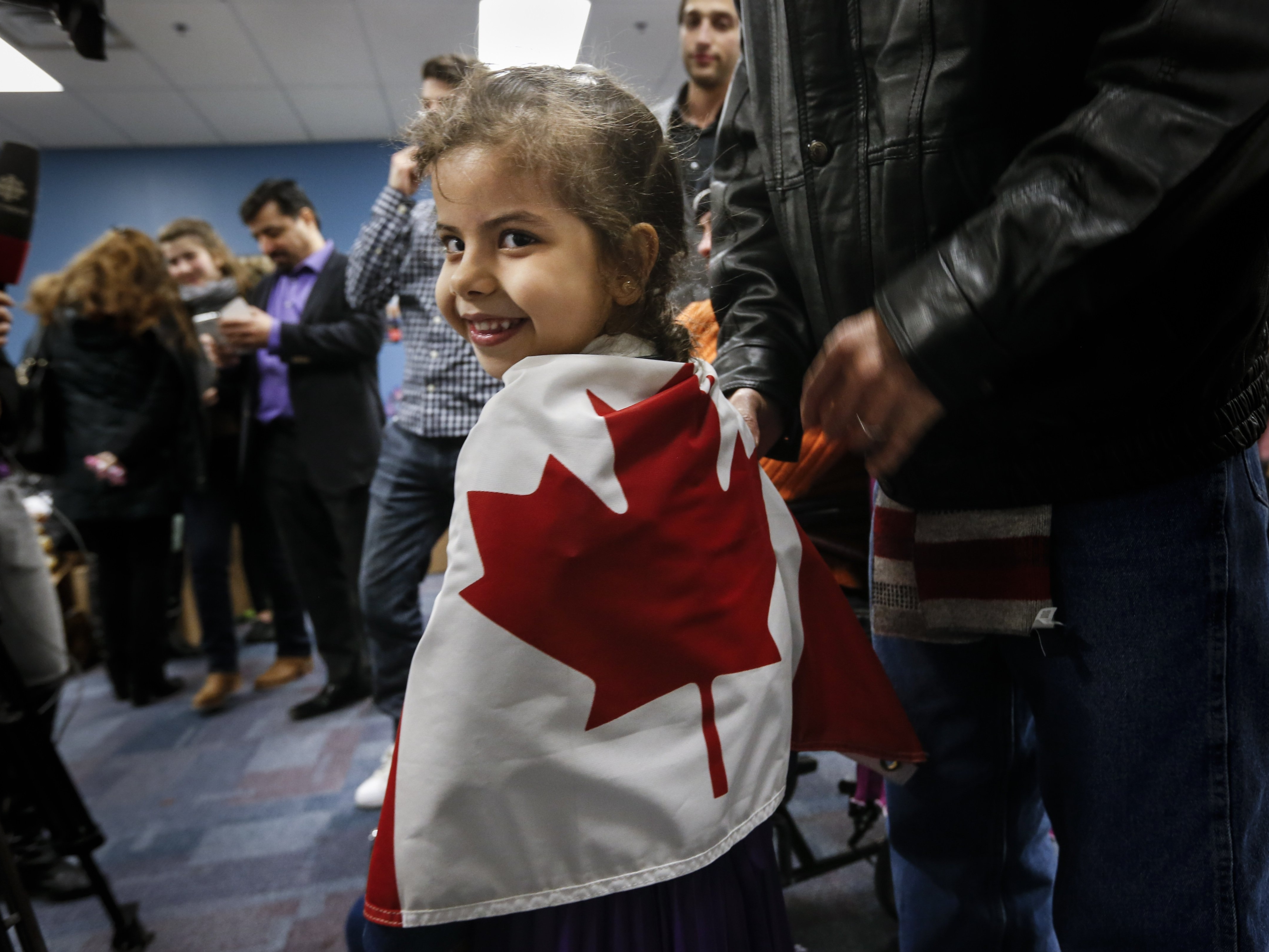 Canada Says It Has Met Its Goal Of Resettling 25,000 Syrian Refugees