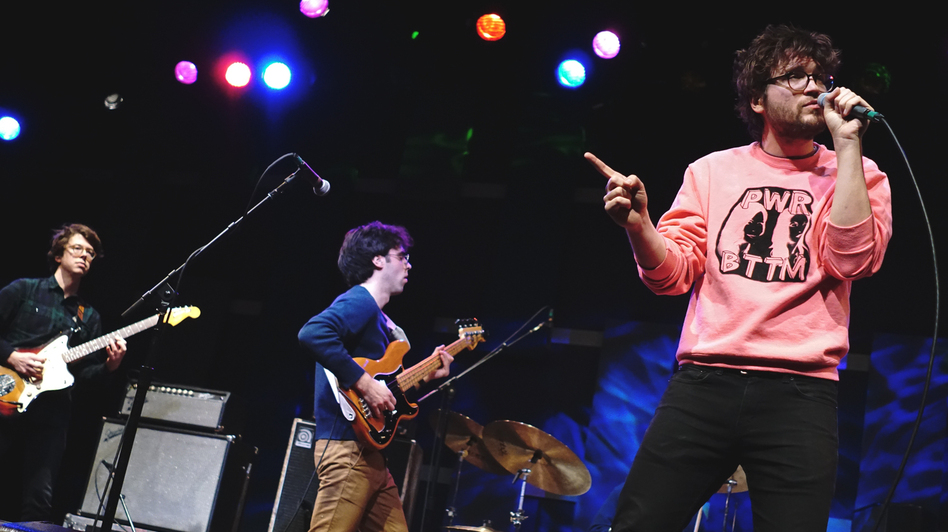 Ra Ra Riot performs at World Cafe Live in Philadelphia. (WXPN)