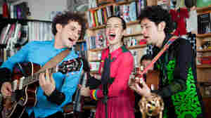 Tiny Desk Concert with Monsieur Periné,