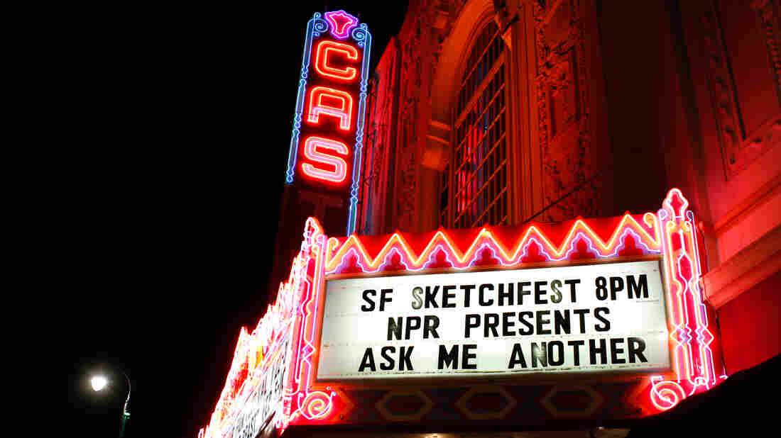 Ask Me Another at The Castro Theater for SF Sketchfest.
