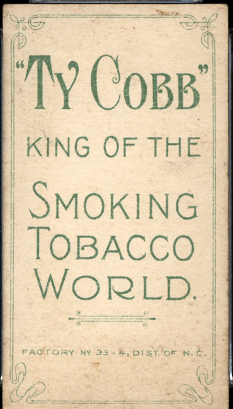 A Collectors Dream 7 Rare Ty Cobb Baseball Cards Discovered The