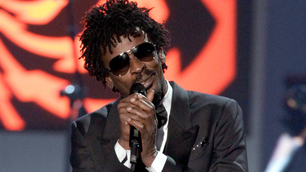Seu Jorge performs onstage during the 2012 Latin Recording Academy Person Of The Year ceremony honoring Caetano Veloso. (Getty Images)