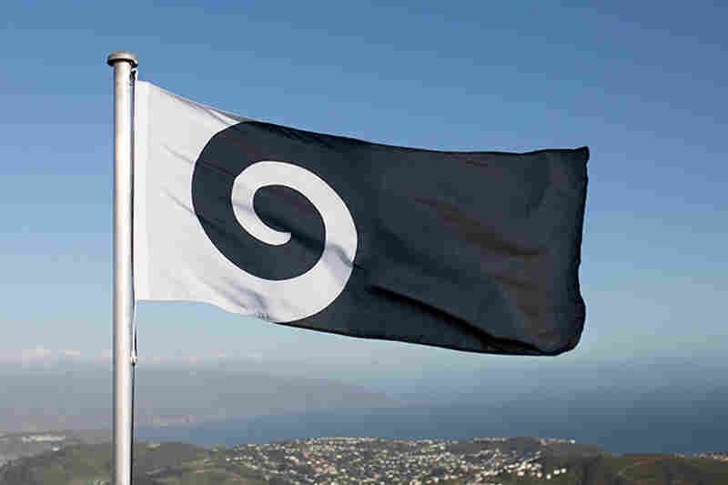 "The ""Koru"" design, by Andrew Fyfe, represents an unfurled silver fern frond ""but is also reminiscent of a wave, a cloud, and a ram's horn,"" the designer writes."