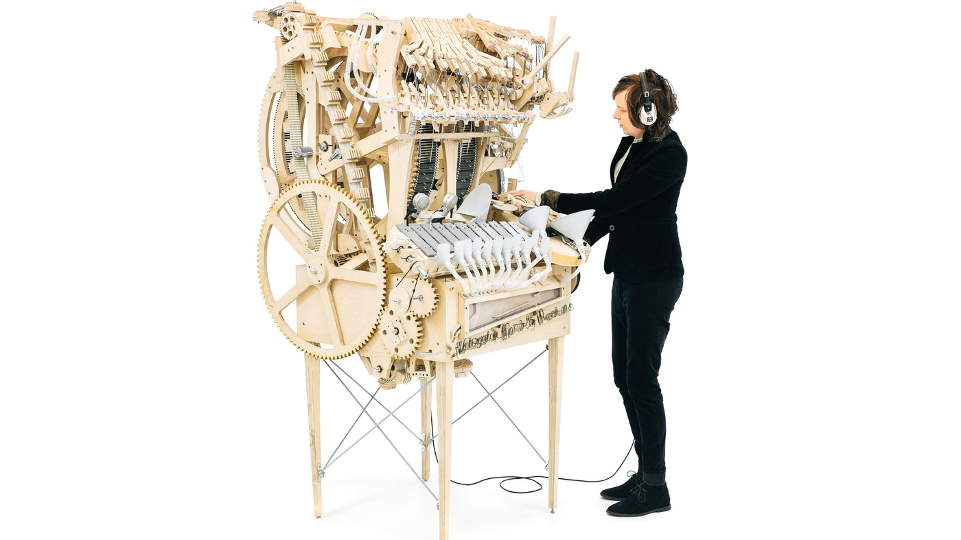 Be Amazed By This Marvelous Music Machine Powered By