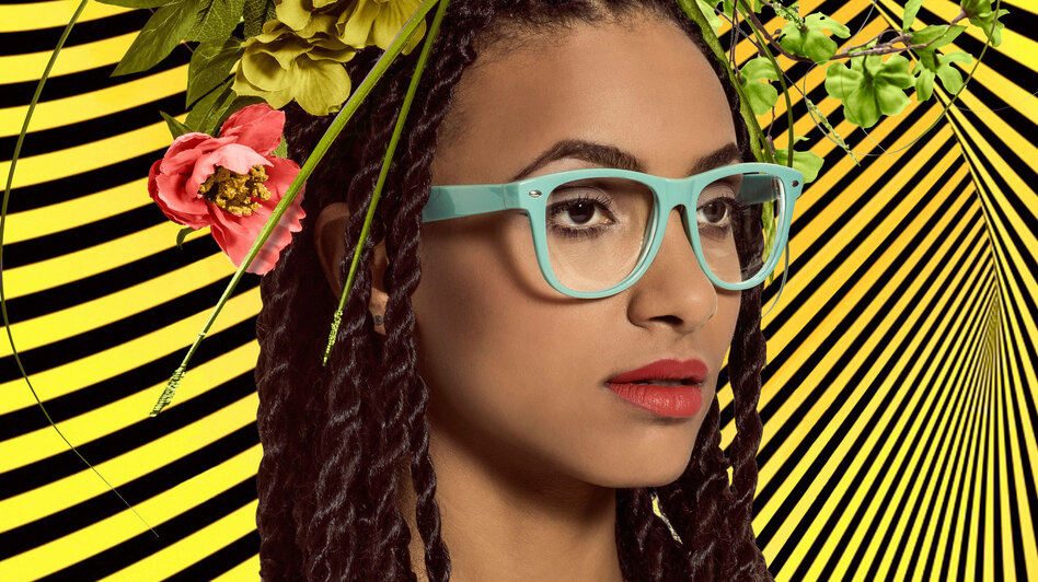 Esperanza Spalding's genre-bending new album, Emily's D+Evolution, is out now. (Courtesy of the artist)