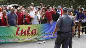 Brazil's Former President Lula Da Silva Targeted In Corruption Raid