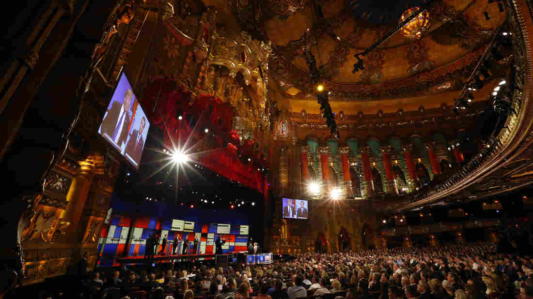 The 11th GOP debate, at the historic Fox Theatre in Detroit, may have been the most bruising yet for Donald Trump, as rivals Marco Rubio and Ted Cruz largely ignored each other to concentrate on the front-runner.