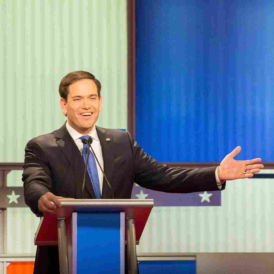 Marco Rubio Defends His 'Small Hands' Criticism Of Donald Trump