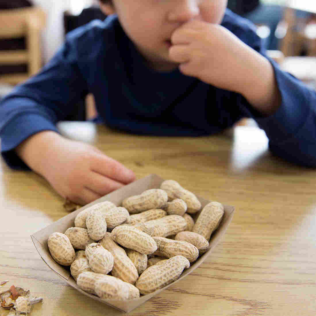 Peanut Mush In Infancy Cuts Allergy Risk. New Study Adds To Evidence