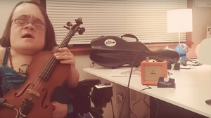 All Songs +1: A Chat With Tiny Desk Contest Winner Gaelynn Lea