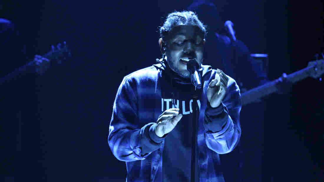 Kendrick Lamar performs on The Tonight Show Starring Jimmy Fallon in January 2016, debuting one of the nameless songs that would pop up on the newly released untitled unmastered.