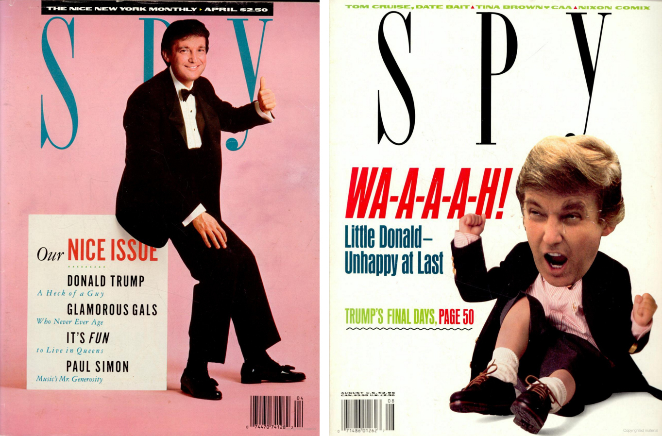 Decades Later, 'Spy' Magazine Founders Continue To Torment Trump
