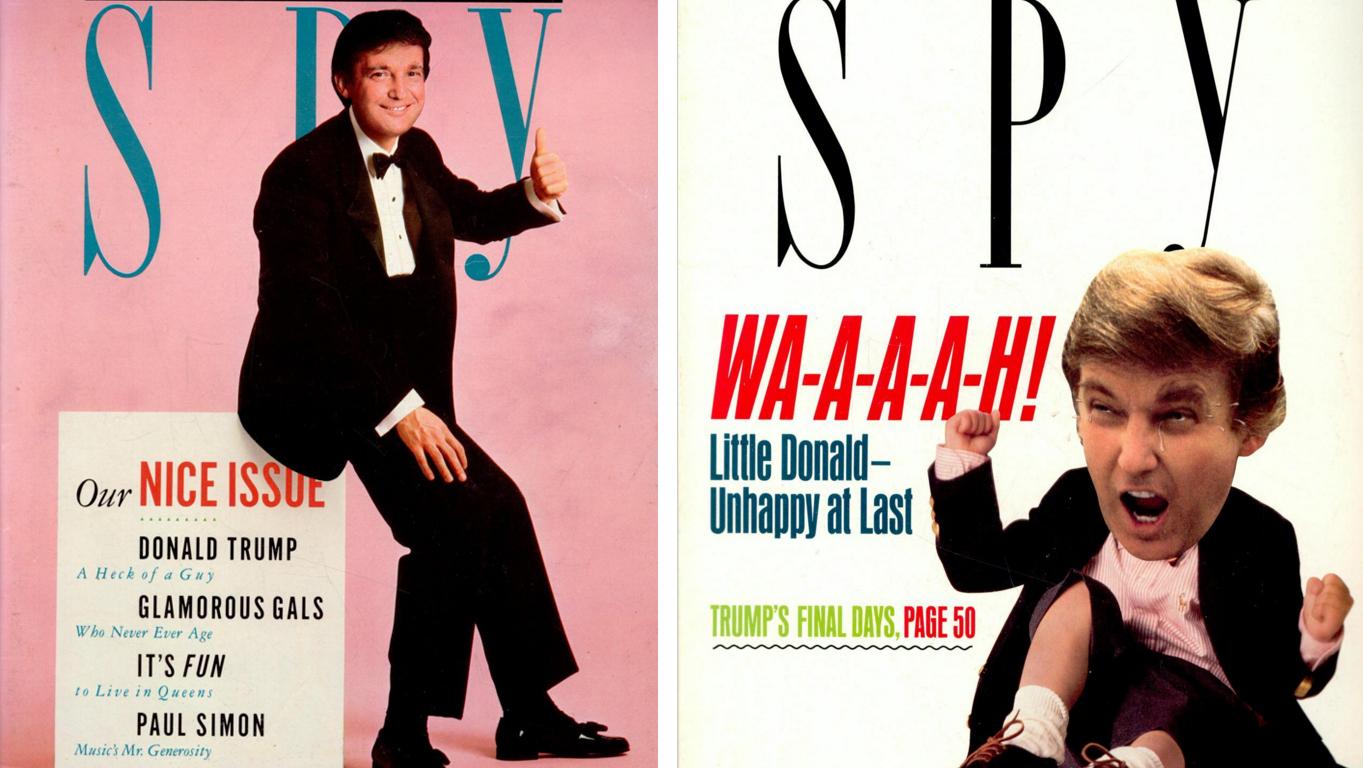 Donald Trump Still Tormented By 'Spy' Magazine Founders : NPR