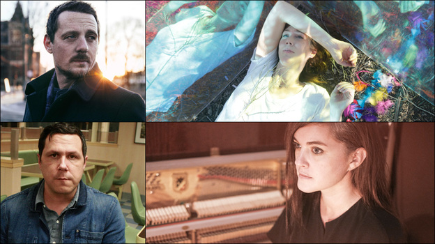 Top row: Sturgill Simpson, Beth Orton; Bottom row: Damien Jurado, Julianna Barwick (Courtesy of the artists)