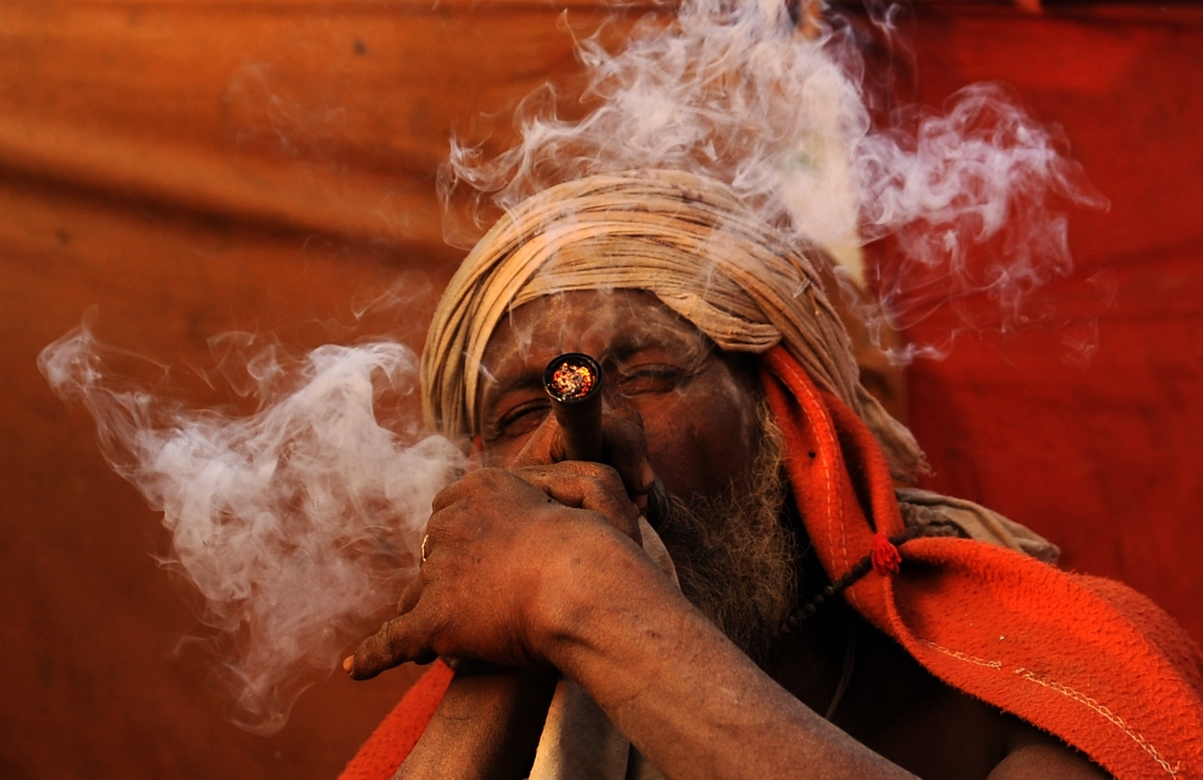 The God Shiva Is Honored At A Festival In Nepal With Bonfires ... And  Marijuana : Goats and Soda : NPR