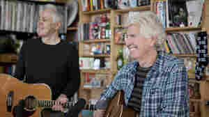 Tiny Desk Concert with Graham Nash.