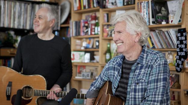 Tiny Desk Concert with Graham Nash. (NPR)