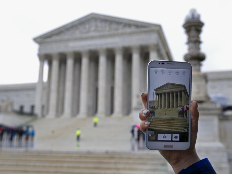 At Supreme Court Debate Over Phone Privacy Has A Long History All