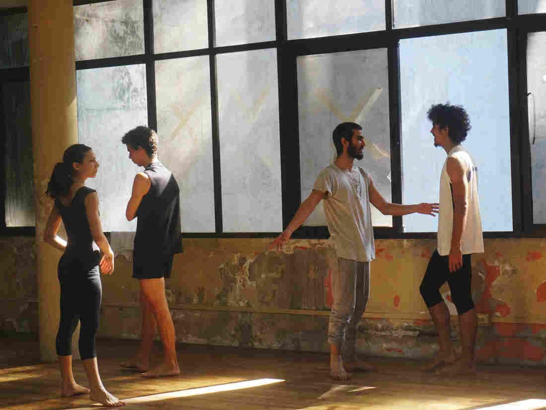 Members of Danza Contemporánea de Cuba prepare for class in Havana in November 2015.