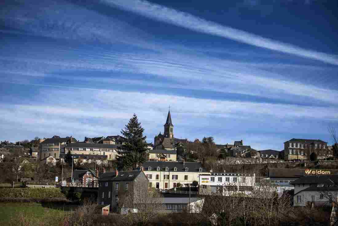 The town of Chateau-Chinon, where Van Nierop is accused of mutilating dozens of patients.