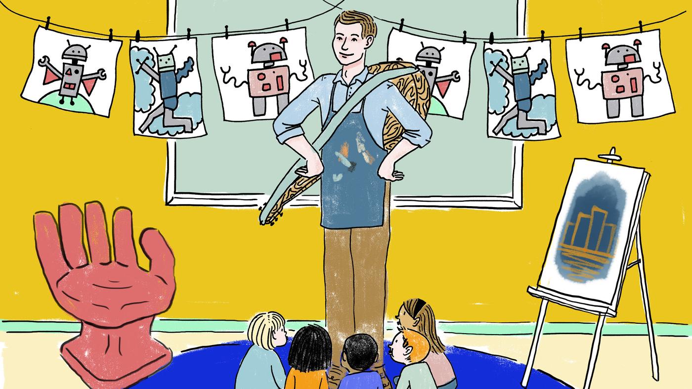 a great teacher illustrated npr