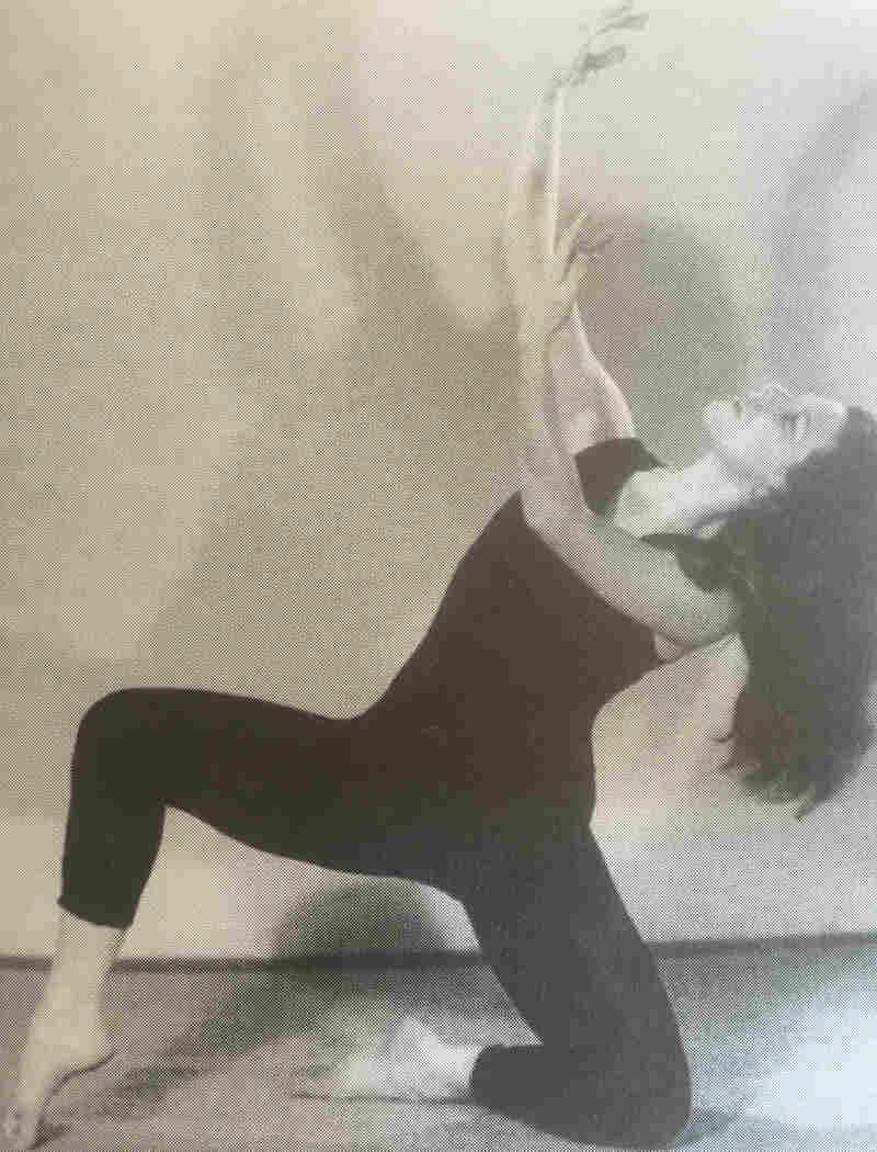 Lorna Burdsall dancing in New York in the early 1950s.