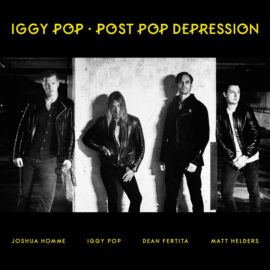 Iggy Pop's new album, Post Pop Depression, was produced by Josh Homme. It comes out March 18 (Courtesy of the aritst)