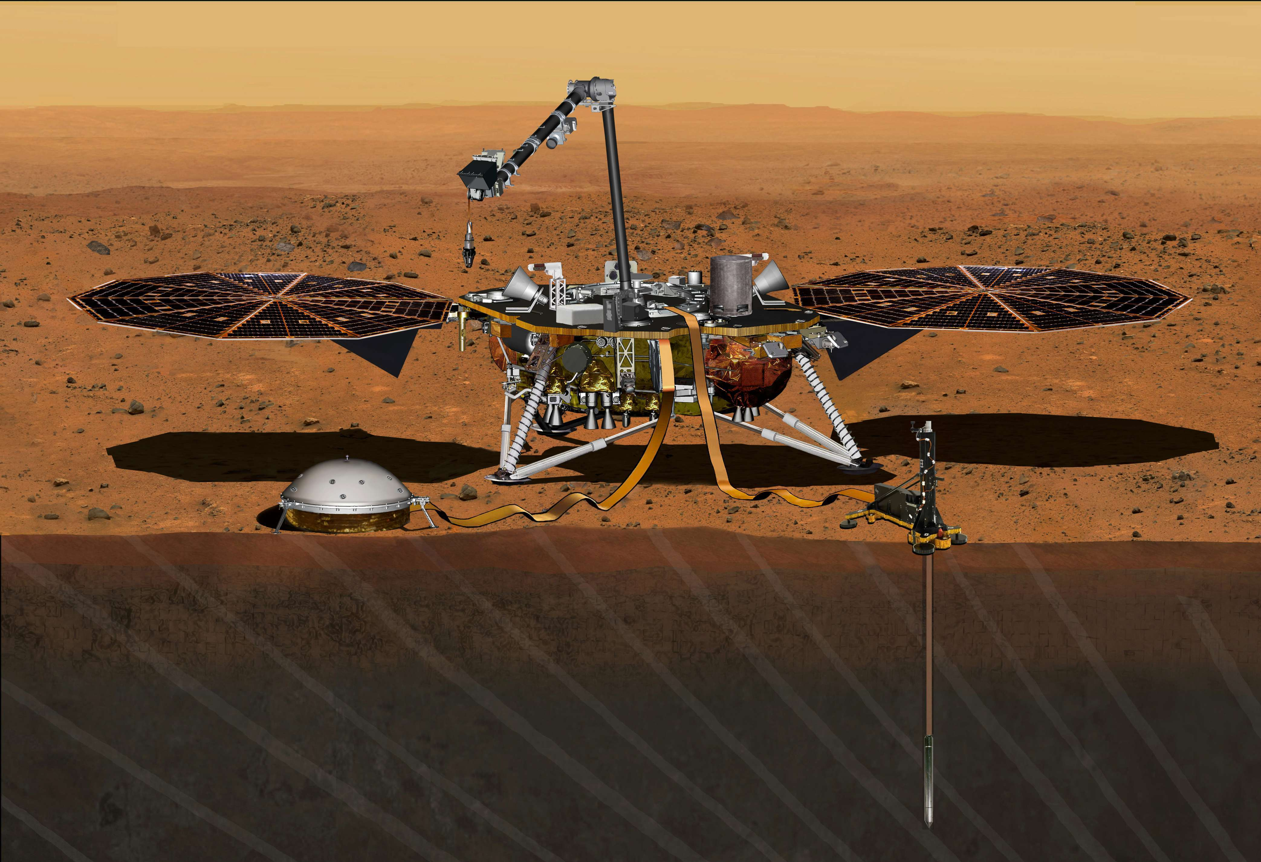 After Equipment Woes, NASA Mission To Mars Is Rescheduled For 2018