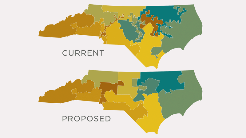 North Carolina's Congressional Primaries Are A Mess Because Of These Maps