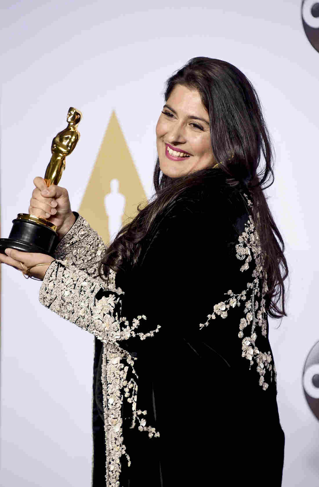 Sharmeen Obaid-Chinoy won the Oscar for best documentary short subject for A Girl in the River: The Price of Forgiveness.